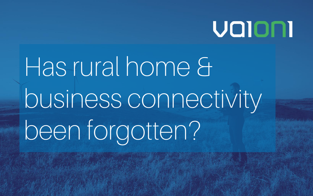 Has rural home & business connectivity been forgotten?