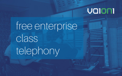 Vaioni enables businesses to minimise costs with free enterprise class hosted telephony solution for 3 months
