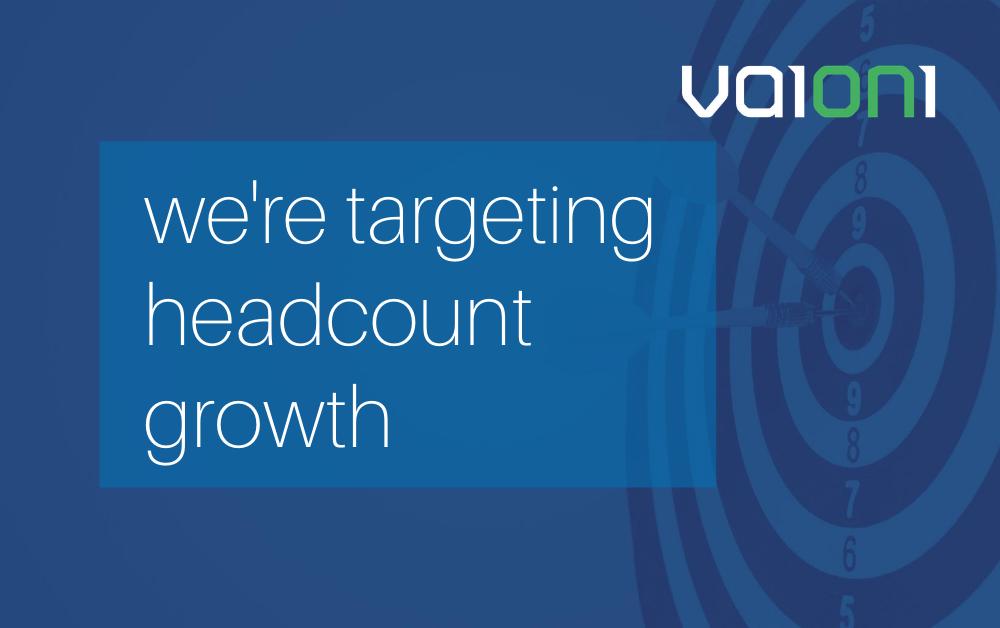 Vaioni targets headcount growth