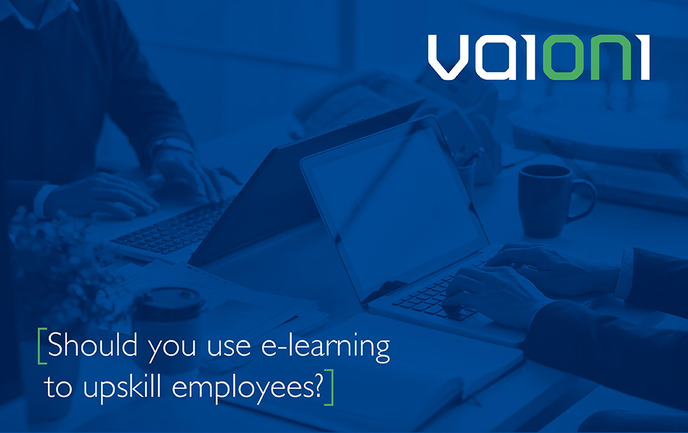 Should you use e-learning to upskill employees?