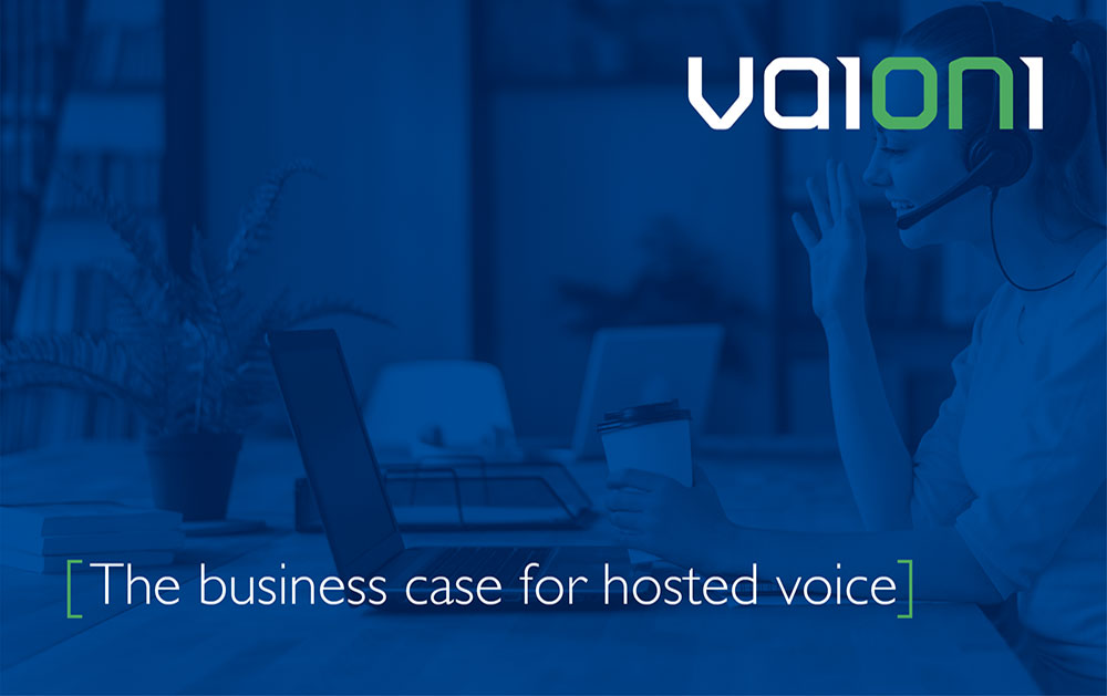 The business case for hosted voice